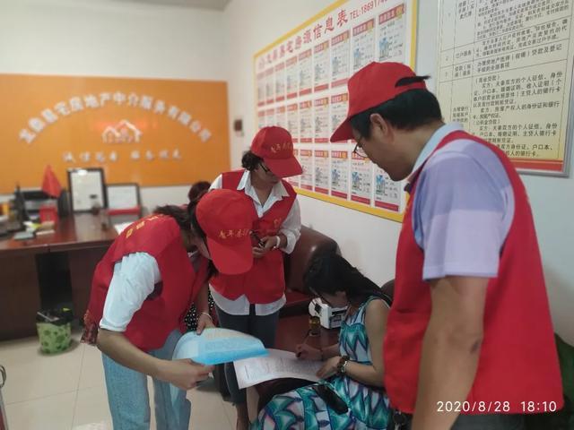 扶风县助力创文志愿者在行动