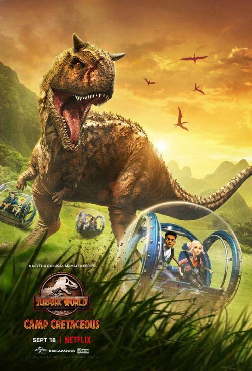 《侏罗纪世界》衍生动画片《侏罗纪世界:露营白垩纪》9月18日上线