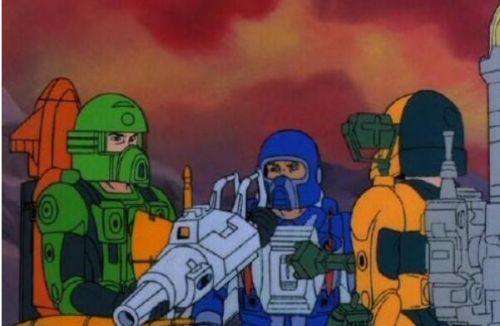 《正义战士》算得上经典科幻动画,圆了很多男孩子的机甲梦