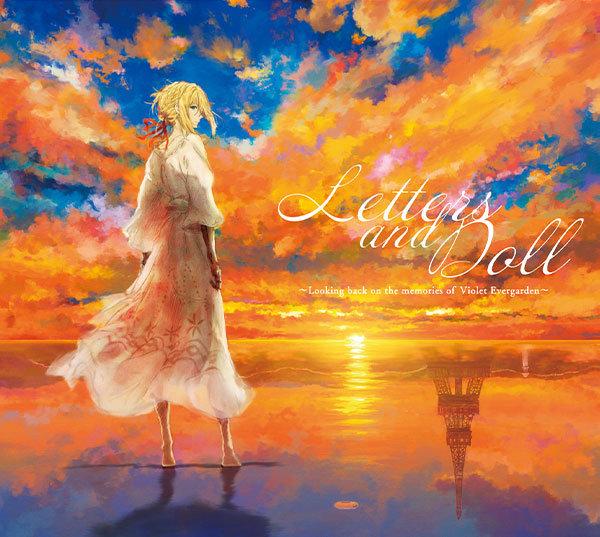 《紫罗兰永恒花园》的声乐专辑封面发布,演唱者为薇尔莉特·伊芙