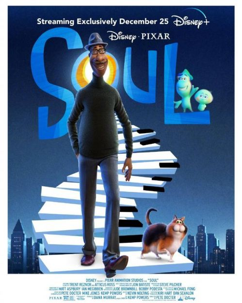 """皮克斯探讨""""灵魂""""的动画新片《心灵奇旅》,圣诞直接上线流媒体Disney+"""