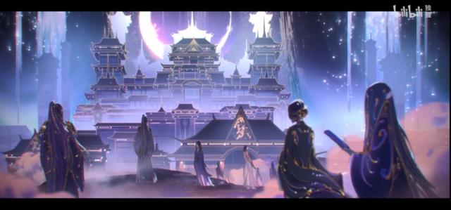 国产动画「天官赐福」官方公开了片头曲「无别」,还公开了动画片头版MV