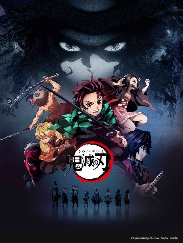 「鬼灭之刃 无限列车篇」中文配音版在11月6日于台湾上映