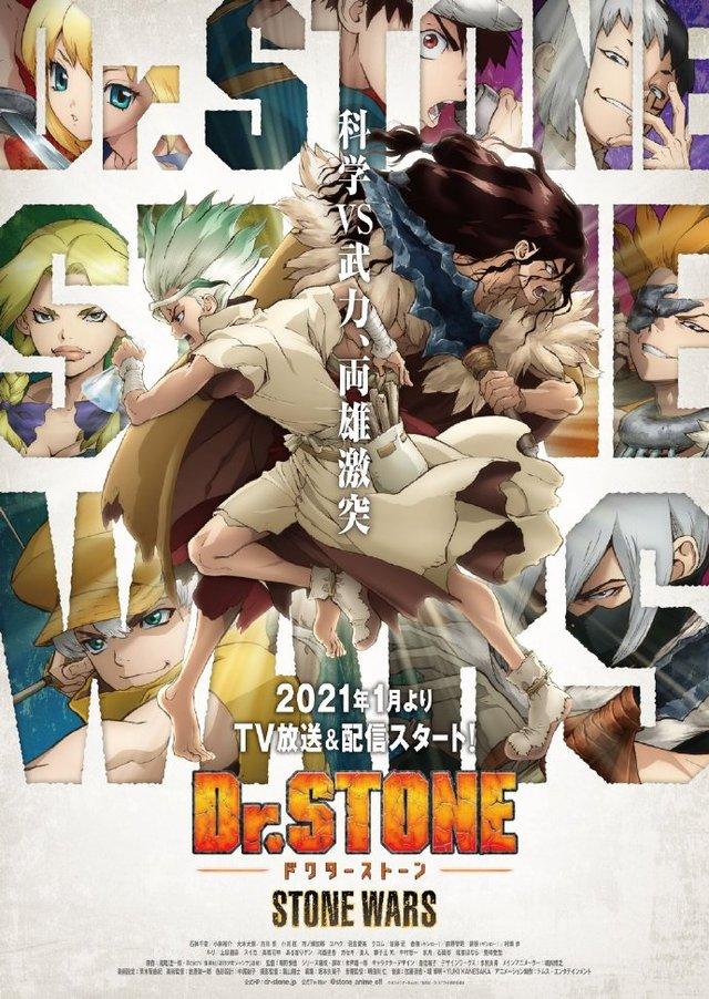 「Dr.STONE 石纪元」第2季「STONE WARS」公开主题曲相关情报