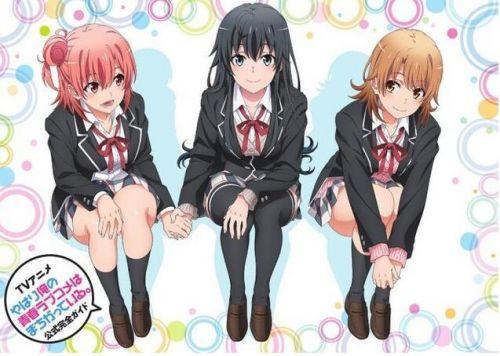 TV动画《我的青春恋爱物语果然有问题。》官网于近日公开了新的宣传图!