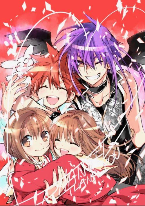 《D.N.Angel》将于3月号《月刊Asuka》上刊载这部漫画的最终话