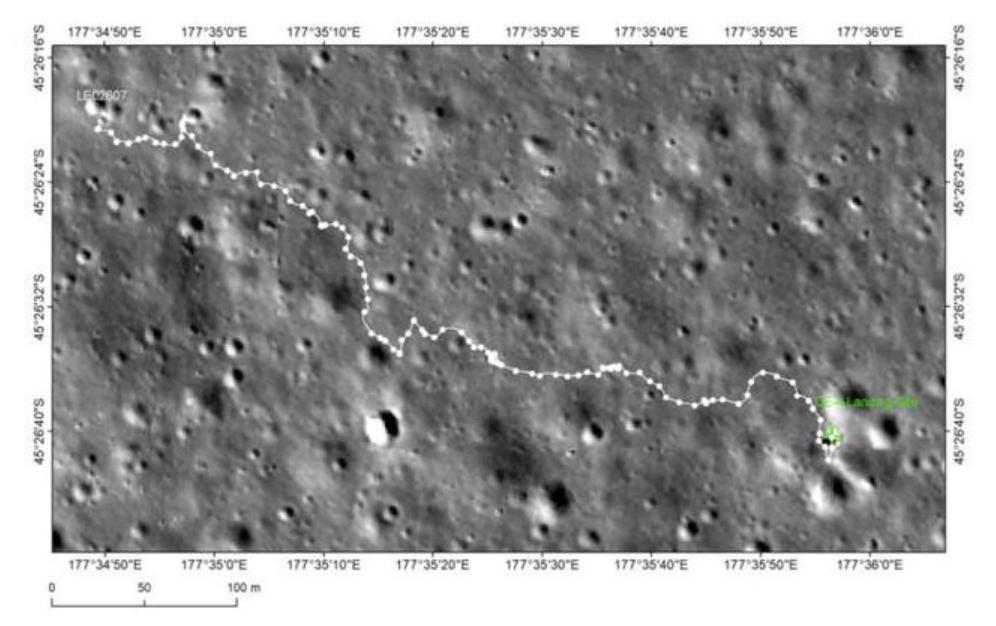 """嫦娥四号和""""玉兔二号""""顺利唤醒 """"玉兔二号""""行驶里程约628.5米"""