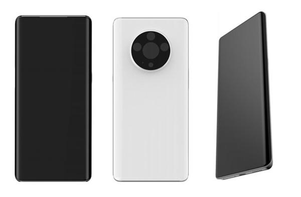 副屏设计成热点 OPPO新机外观设计专利曝光效仿魅族Pro7副屏设计