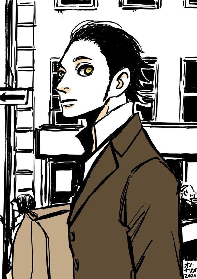 漫画家小野夏芽公开了最新绘制的「ACCA13区监察课」插图合集