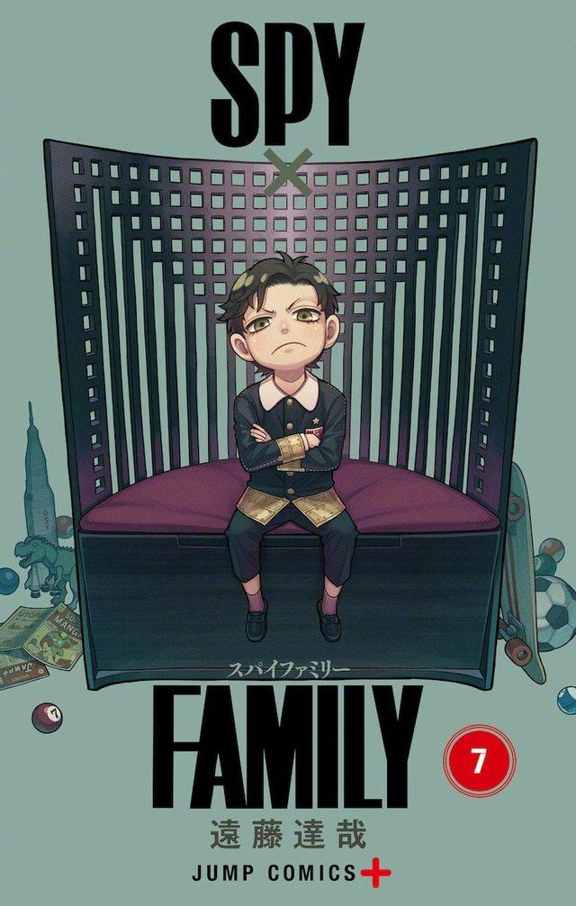 漫画「间谍过家家」公开了第7卷的封面图,第8卷确定将于11月4日发售