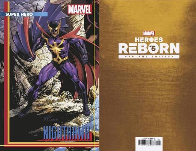 漫威漫画的大型联动故事「英雄重生」已经正式开启,官方放出了变体封面贺图