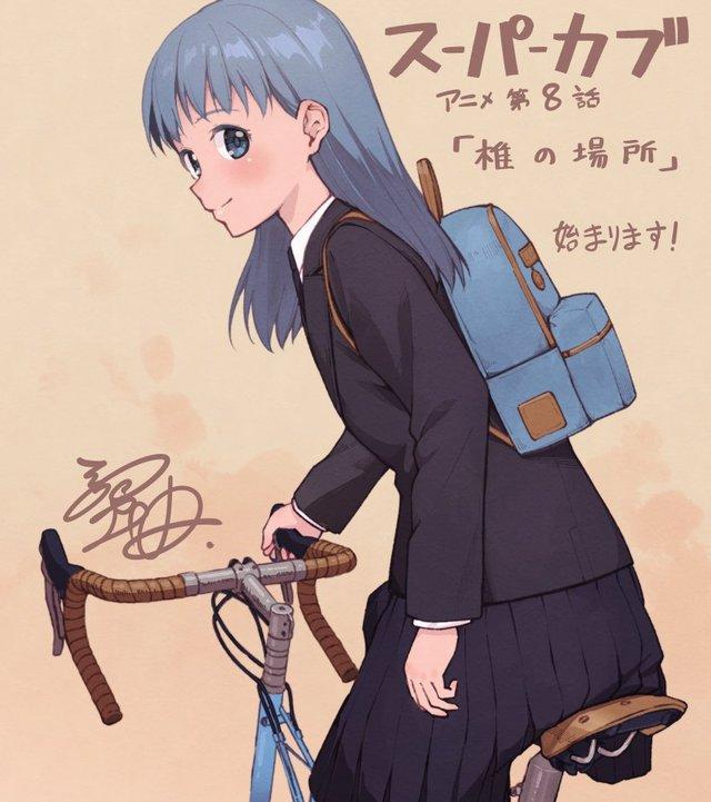 漫画「本田小狼与我」作者蟹丹公开了本作TV动画第八话播出的宣传