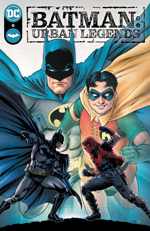DC漫画「蝙蝠侠:城市传奇」公开了第6期的封面以及变体封面