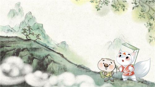 《狐桃桃和老神仙》即将于2021年底登陆腾讯视频,