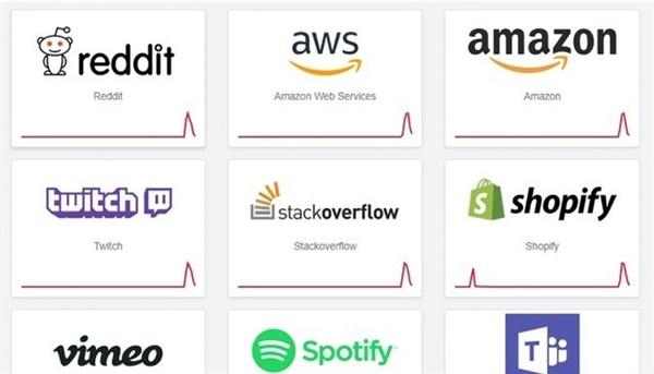 全球大量网站集体宕机 Fastly Edge系统下线或是宕机主因