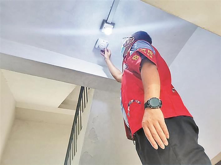 盐田试点智慧烟感报警器 利用云计算等加强消防安全