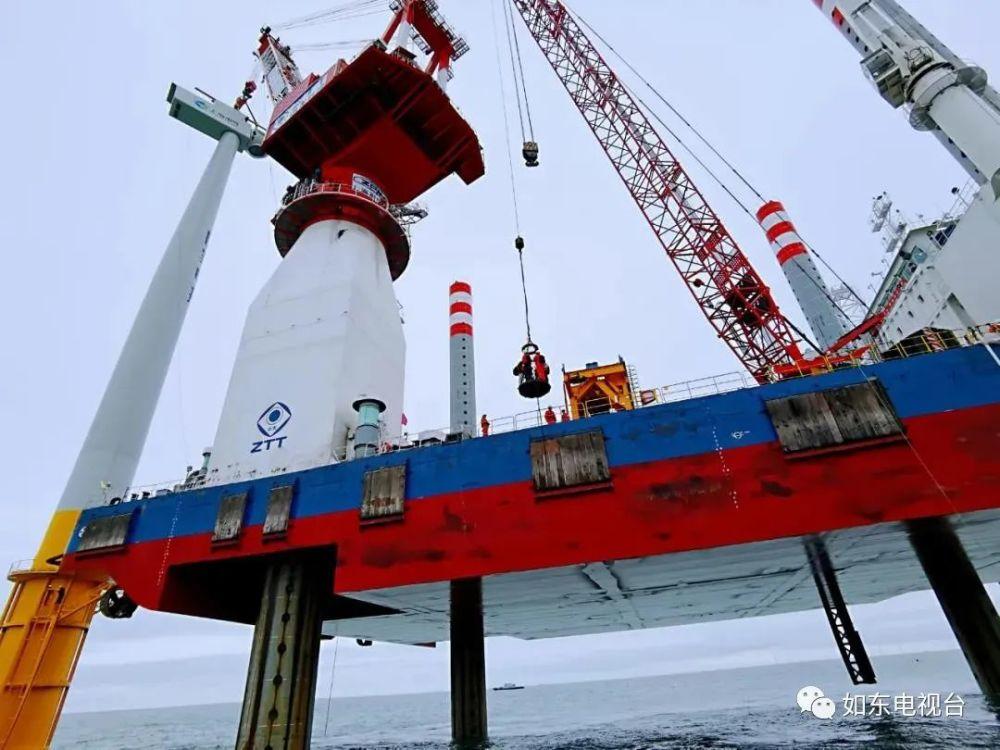 中国规模最大!华能江苏如东海上风电场全部建设完成