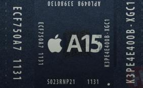 曝苹果A15处理器开始试产 搭载5核心GPU性能至少升级35%