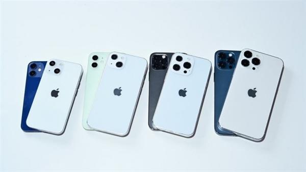iPhone 13全系模型又出现 后置摄像头更大呈对角线布局