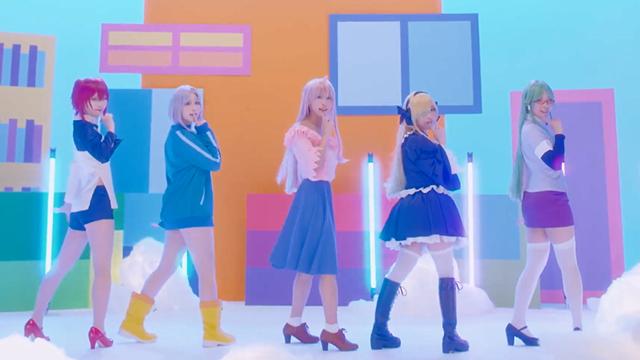 「女神宿舍的管理员。」OP主题曲真人版MV公开,于7月14日开始播出