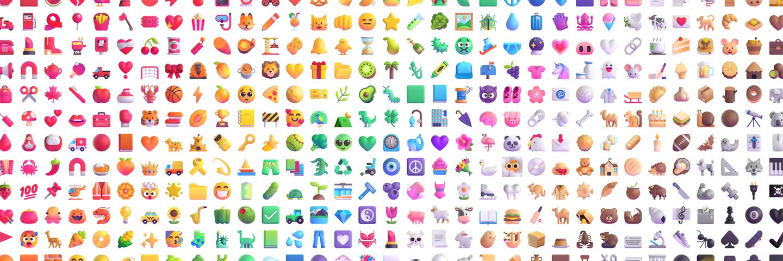 微软披露Win11全新Emoji表情系统 包括重新设计的1800多个表情