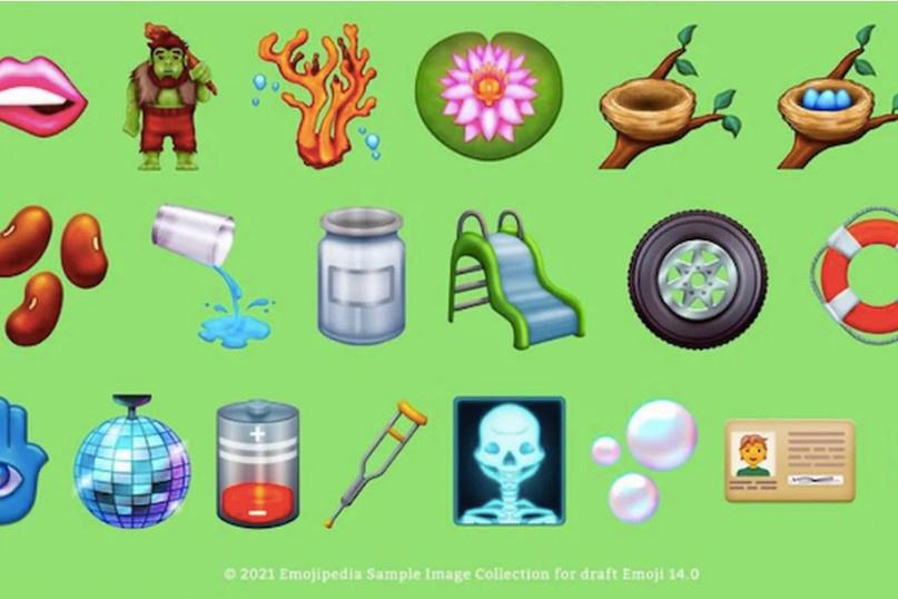 Emoji 14.0表情符号入围名单公布 包括融化的笑脸、低电量等