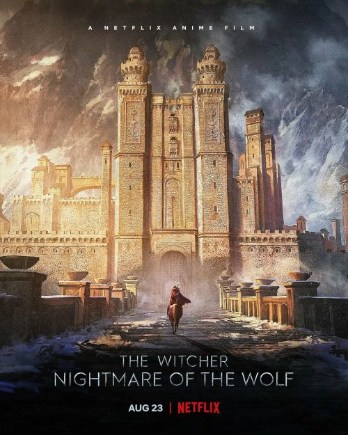 热剧《猎魔人》衍生动画电影《猎魔人:狼之噩梦》发布预告,8月23日上线