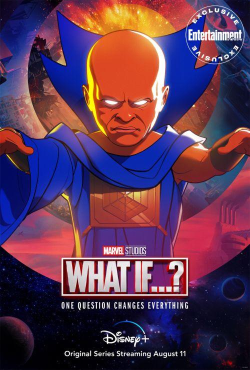 """漫威动画剧集《假如》发布角色海报,超级先进宇宙种族""""观察者""""亮相"""