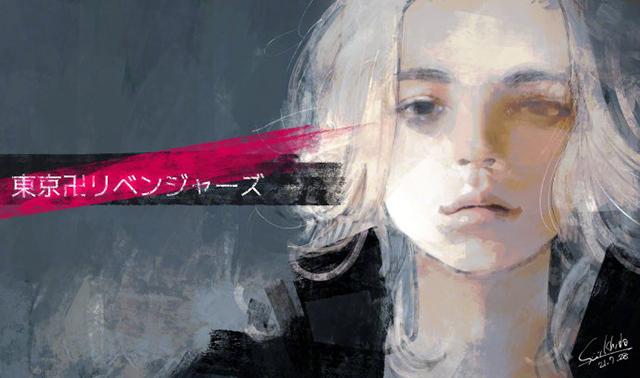 「东京喰种」原作石田スイ公开了由其绘制的「东京卍复仇者」Mikey