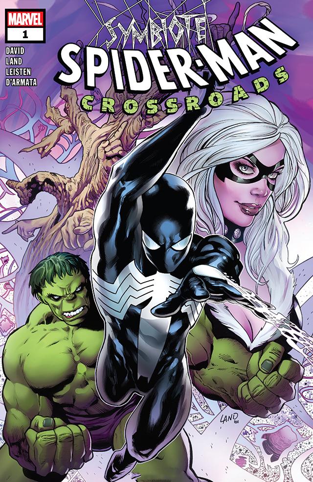 漫威漫画公开了「共生体蜘蛛侠:十字路口」的第1期正式封面