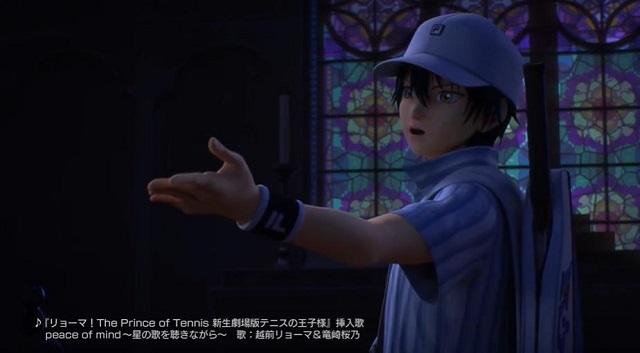 「龙马!新生剧场版网球王子」越前龙马&龙崎樱乃歌舞二重唱片段公开 将于2021年9月3日上映