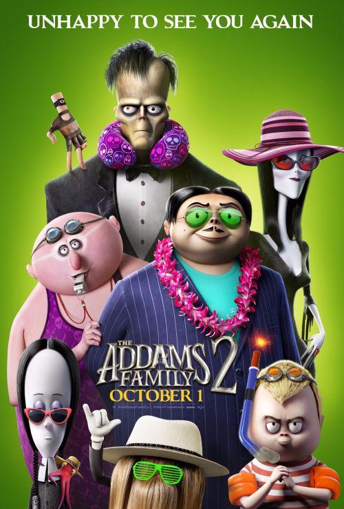 动画片《亚当斯一家2》也更改了影片的上映计划 制片方加入了流媒体上线的内容