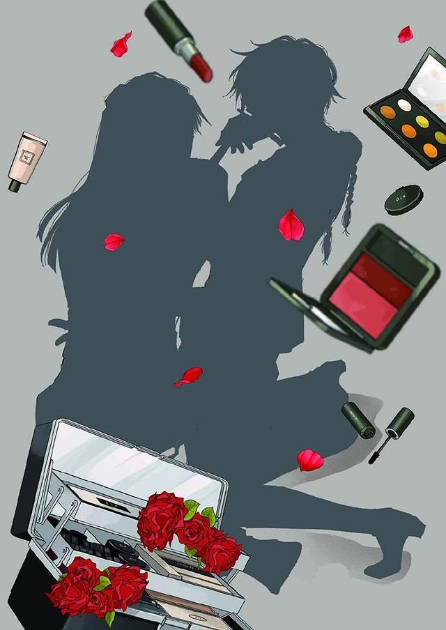 漫画「我让最想被拥抱的男人给威胁了」公开了第八卷的封面剪影 将于明天正式公开
