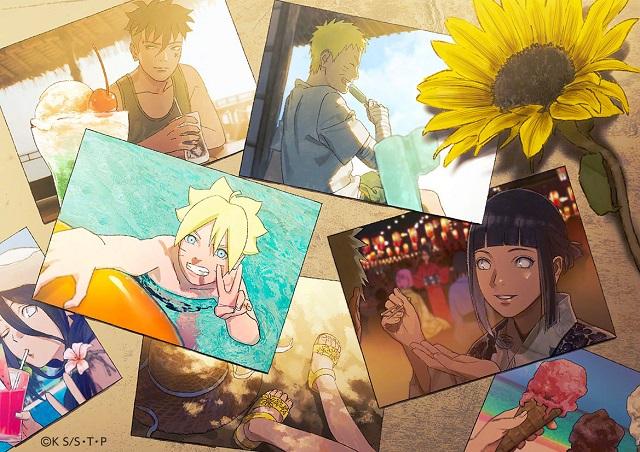 「博人传:火影忍者新时代」动画公开了一张新插图 主题为「向日葵的暑假,与宝贵家人们的回忆」