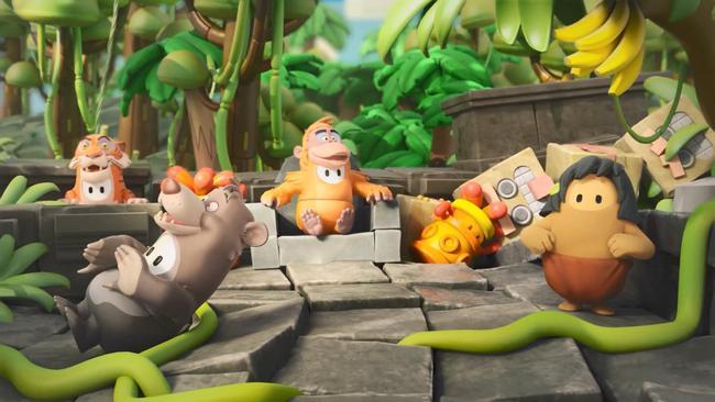 《糖豆人》游戏将联动迪士尼经典动画《森林王子》 并发布了预告片