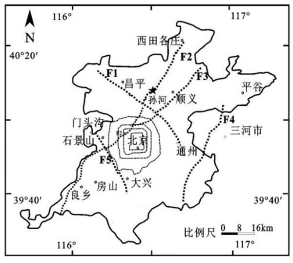 北京昌平区发生1.9级地震 震中在西北-东南向南口断裂附近