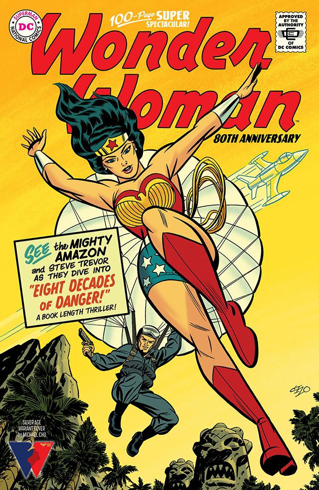 DC公开「神奇女侠」80周年纪念特刊青铜时代变体封面 全面采用了青铜时代的设定