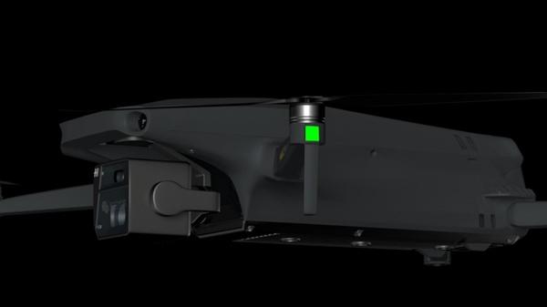大疆Mavic 3渲染图曝光:采用折叠机身方案 云台相机采用双摄