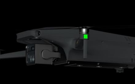 大疆Mavic 3渲染图曝光:采用折叠机身方案 云台相机采用双摄_中穆青年网