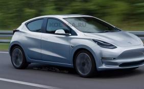 特斯拉全新紧凑型车假想图曝光 新车有望于2023年亮相