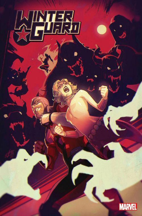 漫威漫画公开了「凛冬卫队」第3期的正式封面 由画师Toni Infante绘制