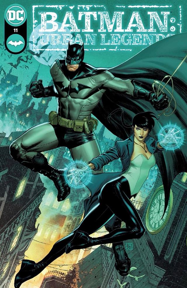 「蝙蝠侠:城市传奇」第11期封面公开 将于2021年12月发布
