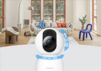 小米智能摄像机2云台版发布 摄像机全新升级400万像素