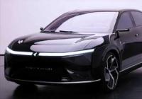 富士康Model E实拍图曝光 定位四门轿跑车预计2023年上市